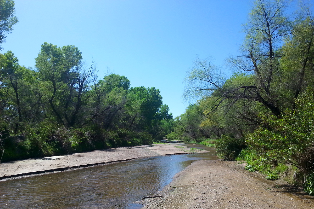 Santa Cruz River at Tumacacori
