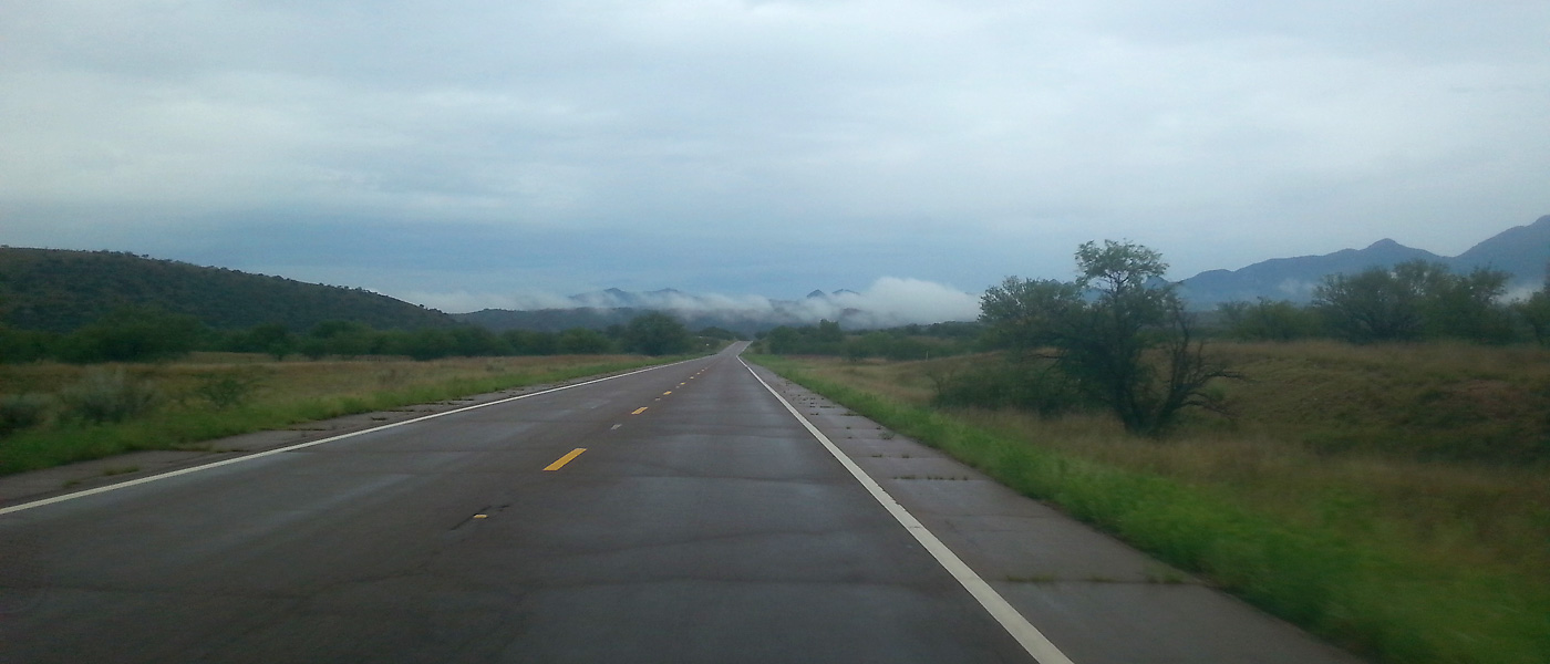 Heading west from Sonoita towards Patagonia