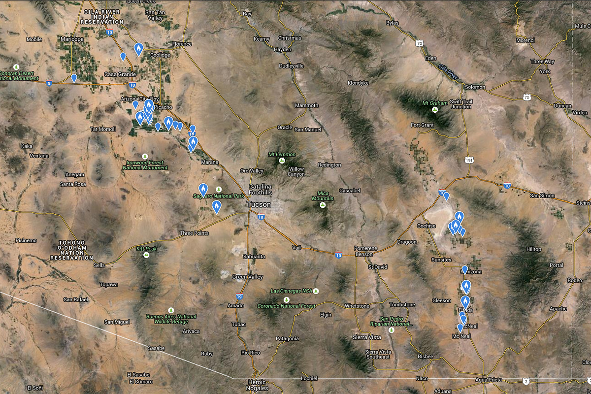 Mountain Plover map from eBird
